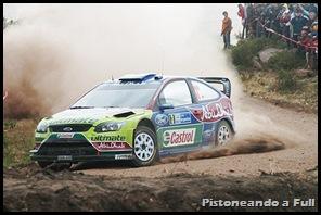 WRC. Miko Hirvonen (BP Ford) gana en Australia tras recargo a Sebastien Loeb (Citroen) / pistoneandoafull.blogspot.com