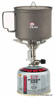 Primus TiLite – Kocher & 0,9 Liter Titantopf für Grammjäger