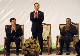 LAOS-MEKONG-SUMMIT-CHINA