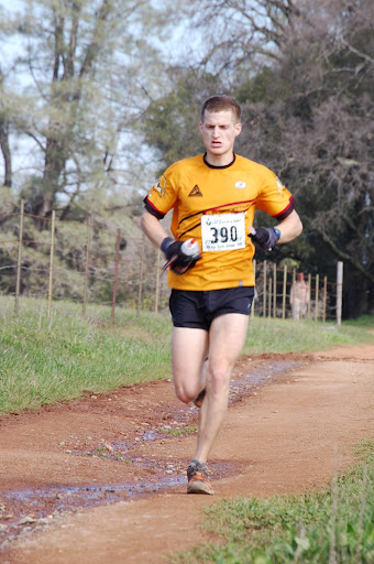 Myself near the finish, photo courtesy Jean Pommier