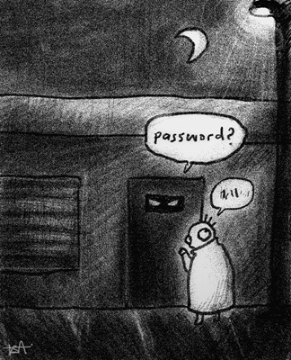 Sebalik penciptaan kata laluan (password)
