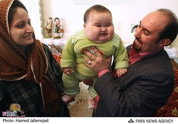 Bayi tergemuk di dunia barangkali