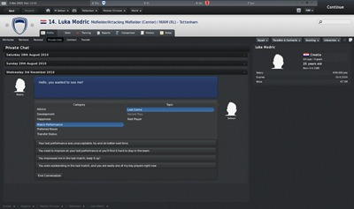 Ulasan Football Manager 2011