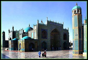 THE BLUE MOSQUE,  MAZAR E SHARIF AFGHANISTAN