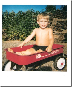 justin in wagon 001