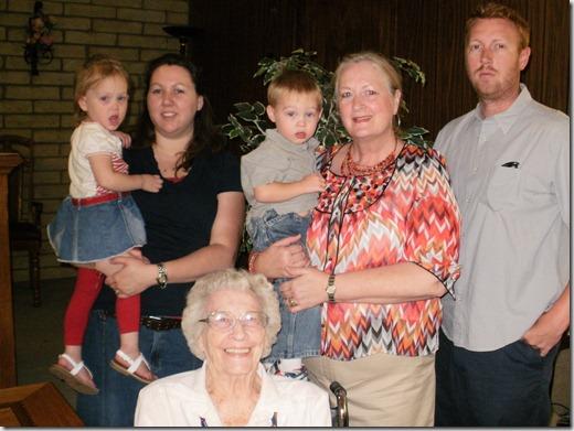McIndoo family 2010