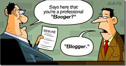 Booger Blogger