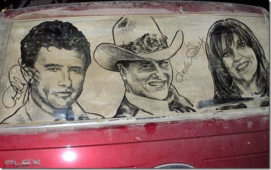 dirty car window drawings awesome5