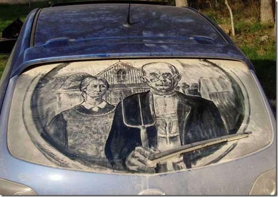 dirty car window drawings awesome7