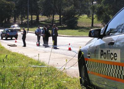 Hughes crime scene