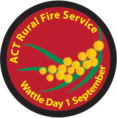 Wattle Day Badge