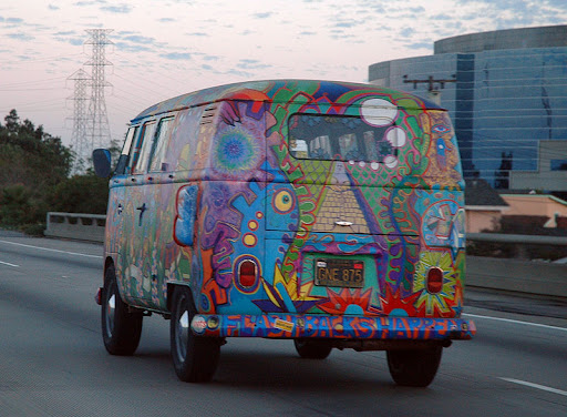 VW Kombi van like the one