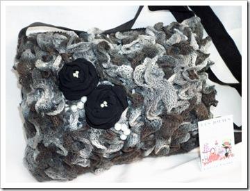 borsetta in maglia