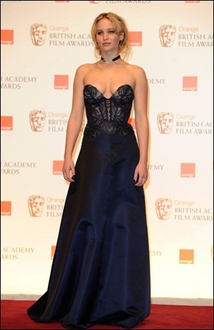 Jennifer Lawrence BAFTA Press Room DO0iZzTAoNQl