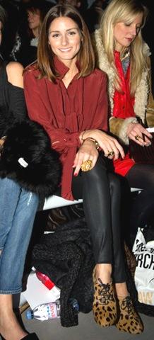 Olivia Palermo Celebrity Front Row Day 5 LFW 7FfxRDf0zS3l