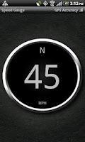Screenshot of Speed Gauge