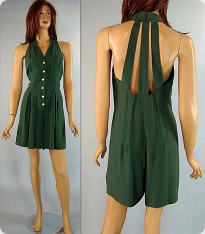 Green Short onsie12