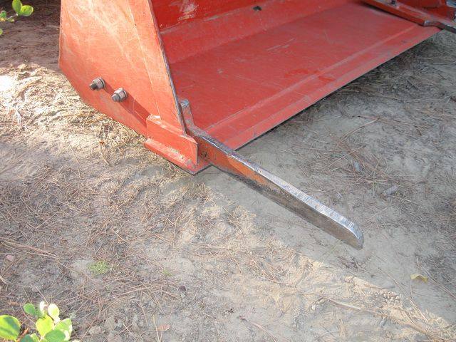 Tractor Bucket Forks : Small forest timber owner for wa logging forks a