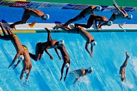 South Africa's water polo team
