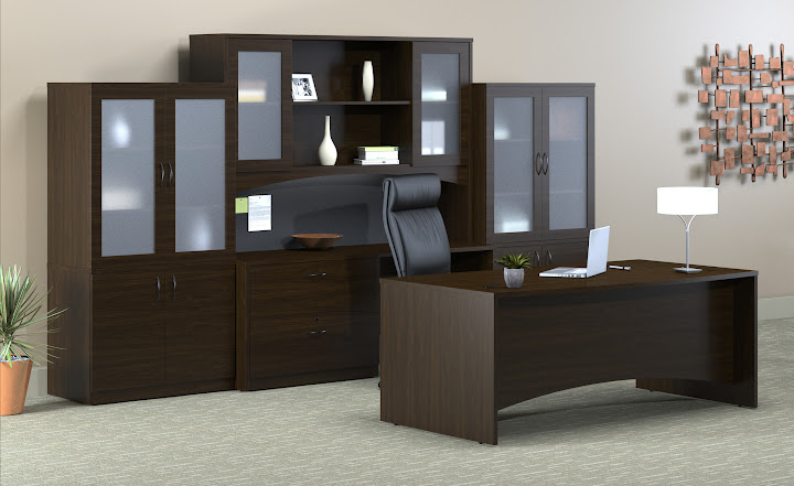 Mayline Brighton Office Desk Suite