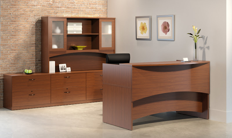Mayline Brighton Reception Desks