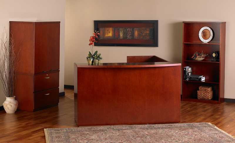 Mayline Mira Reception Desks