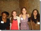 Meghan Arrigo with a Few GFC Girls