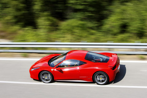 ferrari 2011 models. The 2009 model is known as the