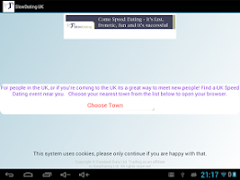 Screenshot of Speed Dating App