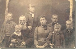 Augusta Travis Castle family