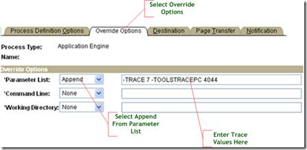 Trace Application Engine Program PeopleSoft   ThinkTibits!