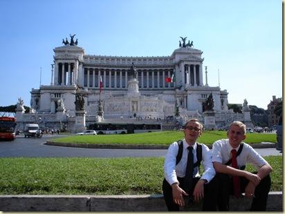 Future companions in Rome
