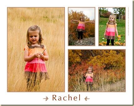 Rachel's 3rd year