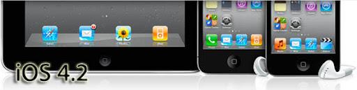 ios42 iOS 4.2.1 ya disponible