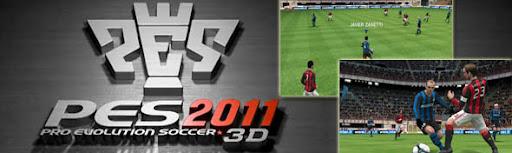 pes20113dspal Vídeo de PES2011 3D, un PES digno para Nintendo 3DS