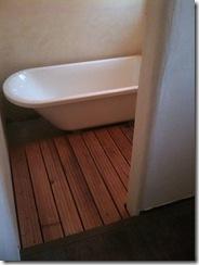 自然素材の家 浴室