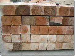 土壁の家 材木2