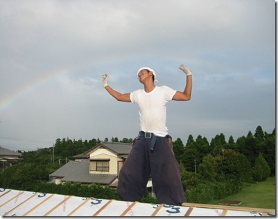 土壁の家 虹