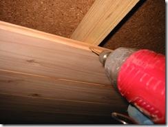 土壁の家 天井板
