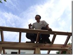 自然素材の家 屋根
