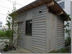 自然素材の家 完成(西)