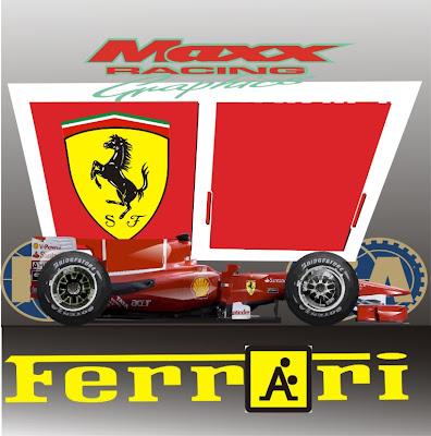 рекламные логотипы Ferrari