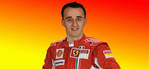 Роберт Кубица в Ferrari