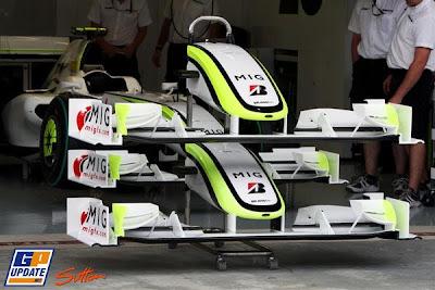 передние антикрылья Brawn GP