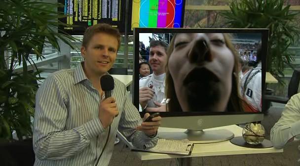 ведущий BBC Джек Хамфри и Джессика Мичибата