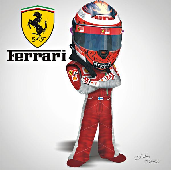 fsone 2008 Кими Райкконен Ferrari