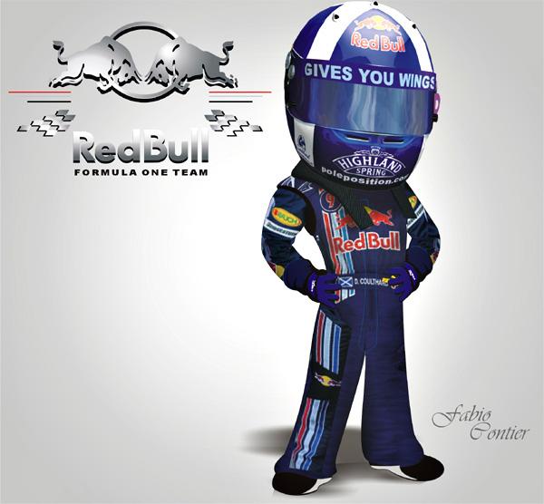 fsone 2008 Дэвид Култхард Red Bull