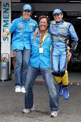 Фернандо Алонсо и Джанкарло Физикелла Renault