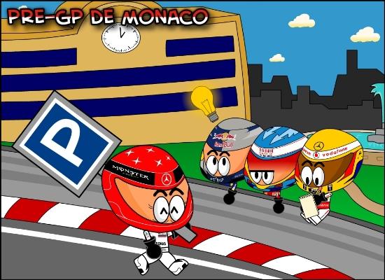 Михаэль Шумахер делится мастерством с гонщиками Ф1