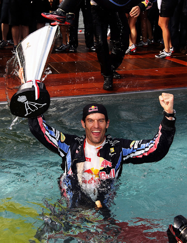 Марк Уэббер - победа на Гран-при Монако 2010